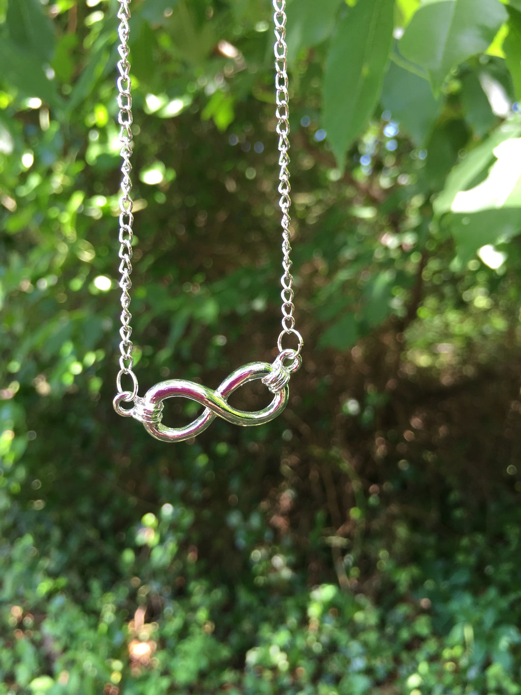 Charmed Infinity Necklace/ Earring Set