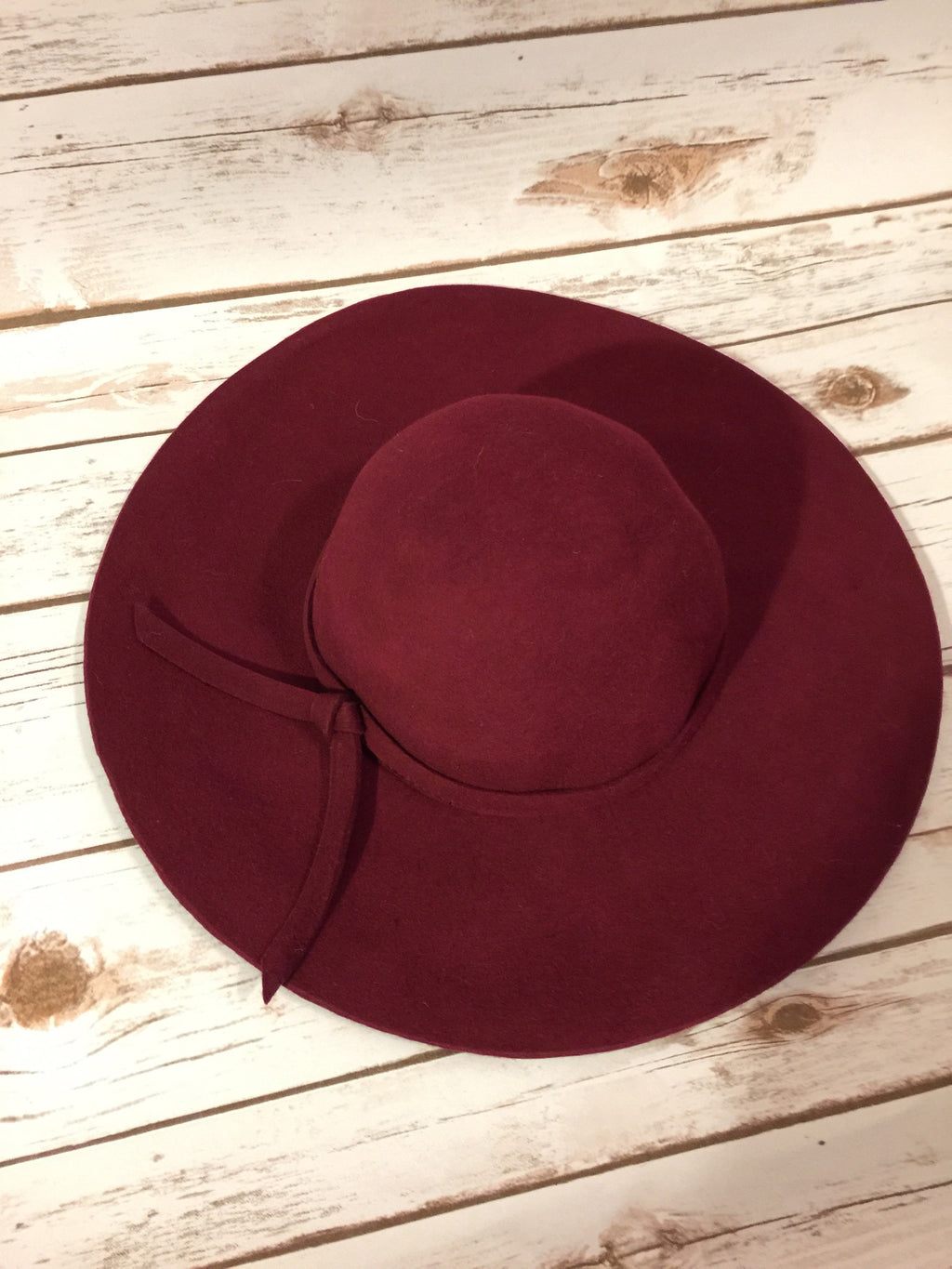 Good Feeling Hat - Burgundy