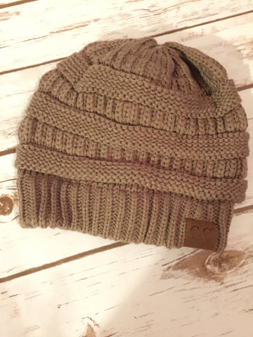 Taupe CC Hat