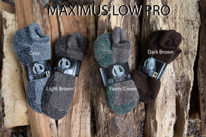Maximus Sock  Low Pro Ankle