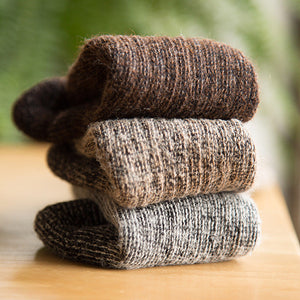 Warm Alpaca Wool Socks