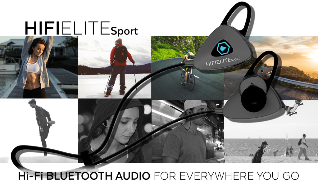 HIFI ELITE Sport - Portable HIFI Audio