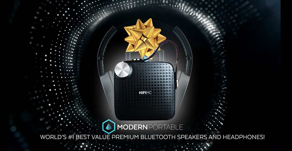 HOLIDAY SALE - Modern Portables Biggest Savings Ever! Savings up to 70% on Bluetooth Headphones, Bluetooth Speakers, Clearance Items and More!