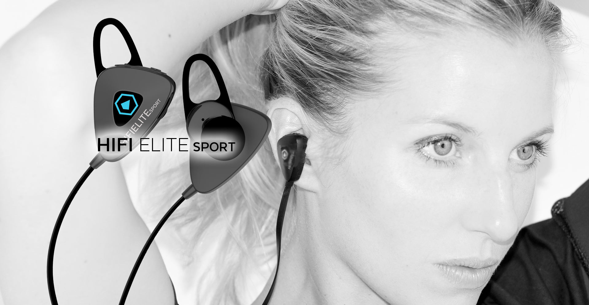 HIFI ELITE Sport In-Ear Bluetooth, Wireless Headphones by Modern Portable