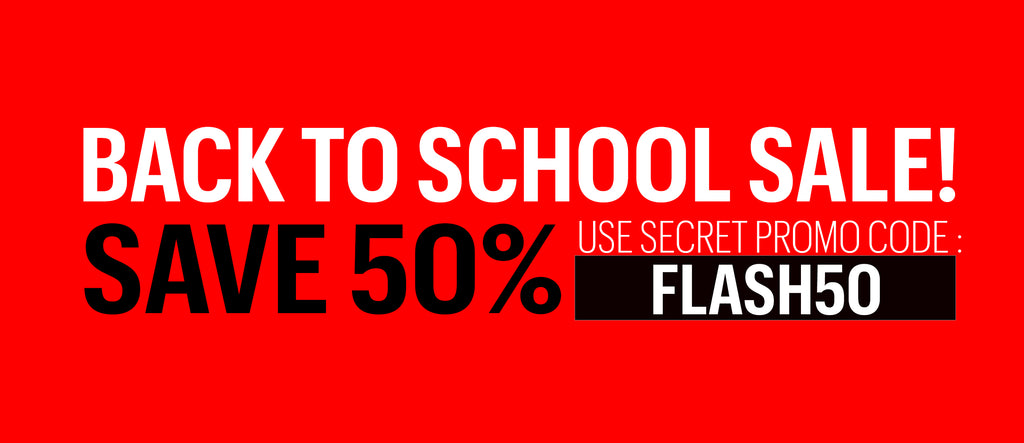 back to school sale - save 50% - code - FLASH50