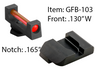 Glock Fiber Combination Sets