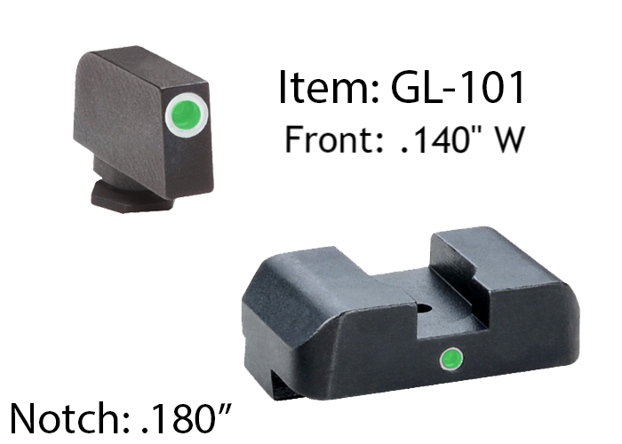 GLOCK replacement sights