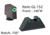 Glock Suppressor Height Sets