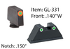 Glock Pro-Glo Combination Sets