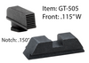 Glock Defoor Tactical Sets