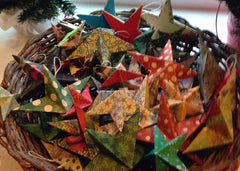 Hand Crafted Star Ornaments