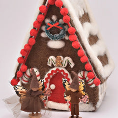 Gingerbread House Fairy Set