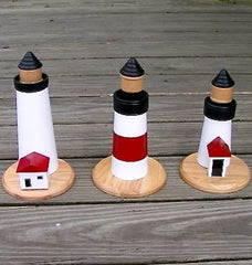 Nantucket Stacking Lighthouse Puzzles