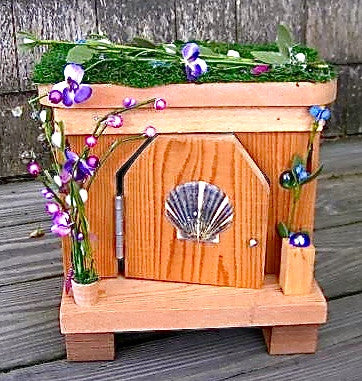 Wooden Fairy House