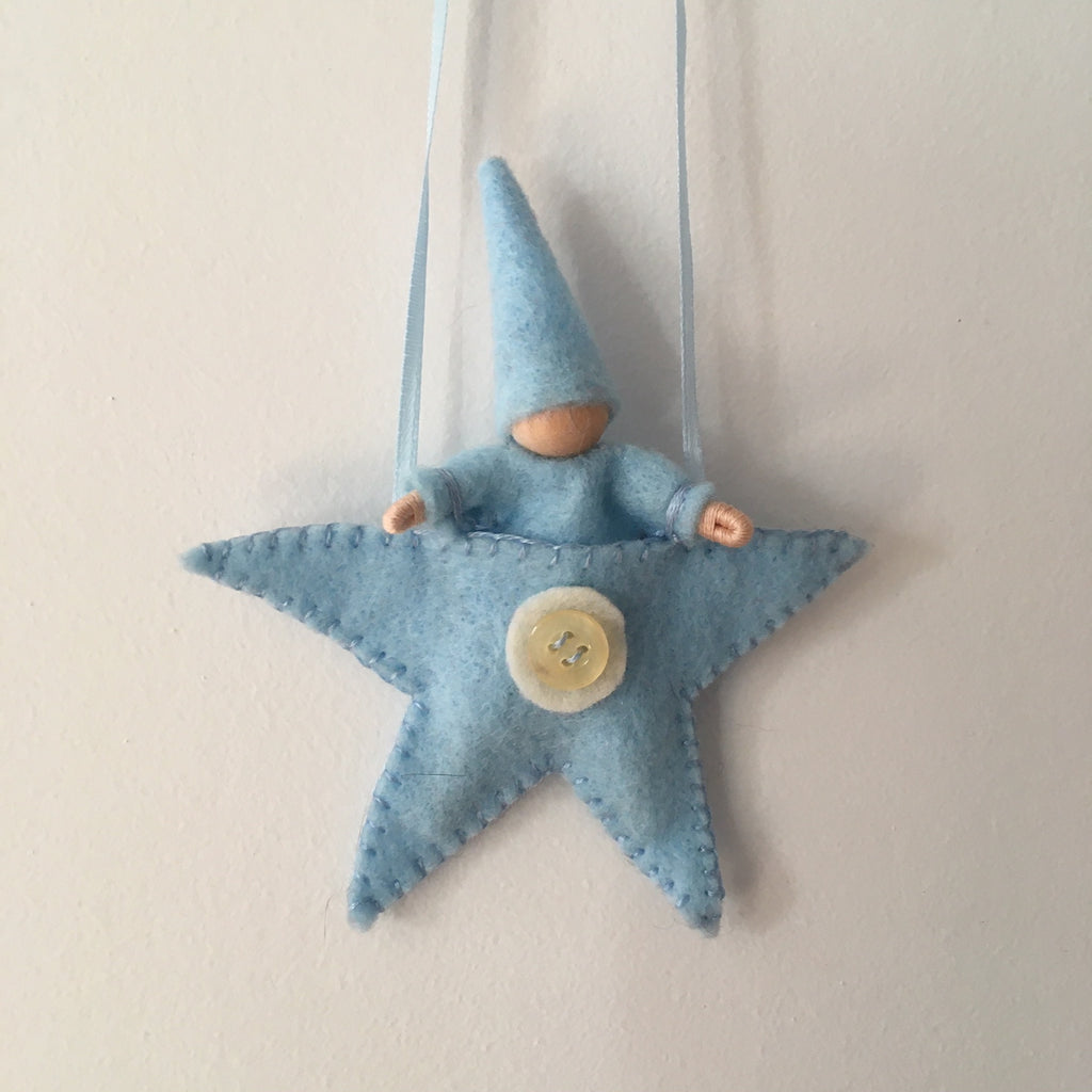 Star Baby in Blue Pouch