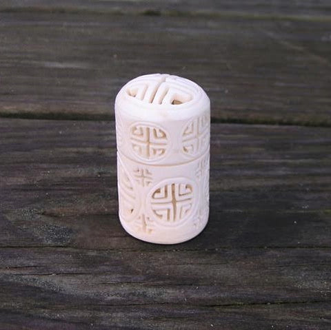 Cricket Box: Carved Cylinder