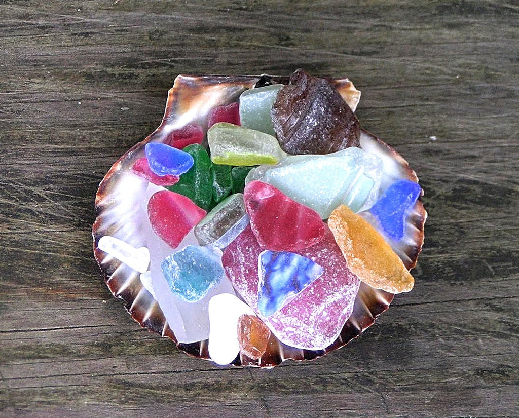 Mermaid's Tears, Nantucket Seaglass