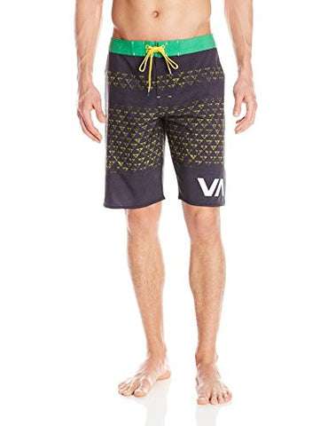 RVCA Makua Triangles Boardshorts BLK