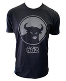 "662 Mob Clasic ""Reflective"" Black T-Shirt"