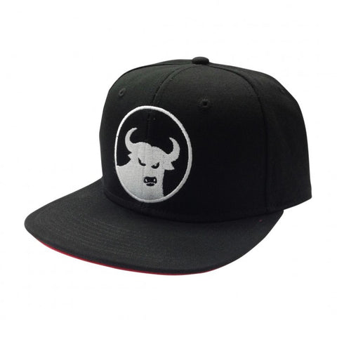662 Six Panel Snap Back Hat Black