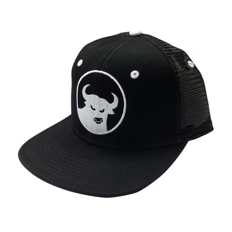 662 Trucker Hat Black/White