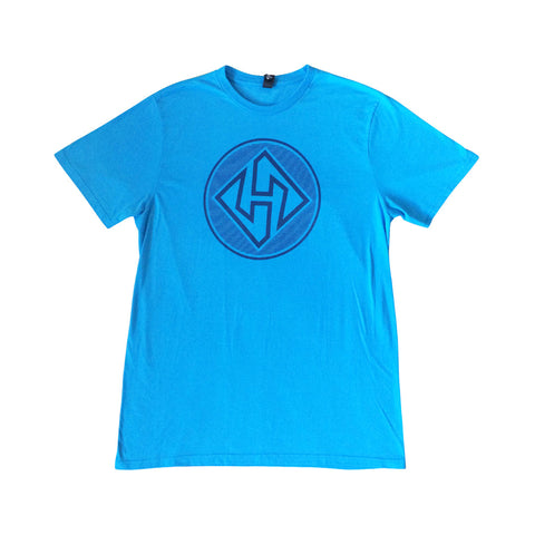 Hubboards Blue Mens T-Shirt