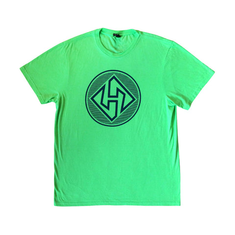 Hubboards Green Mens T-Shirt