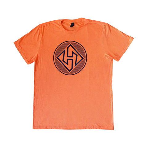 Hubboards Orange Mens T-Shirt