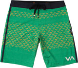 RVCA Makua Triangles Boardshorts GRN