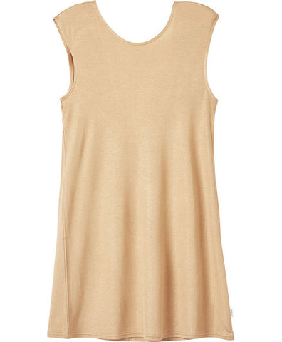 RVCA Amborn Metallic Swing Dress GOL