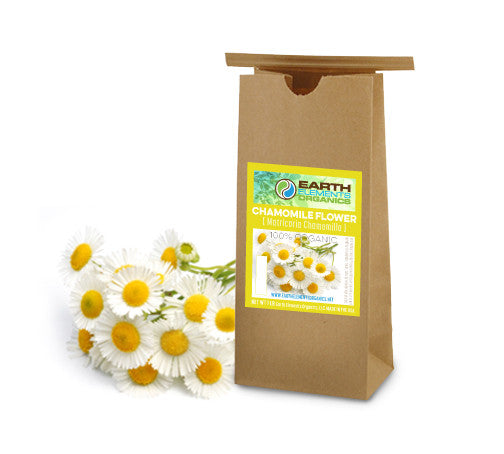Chamomile Flowers (100% Organic) - Earth Elements Organics