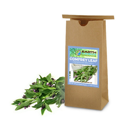 Comfrey Leaves (100% Organic) - Earth Elements Organics