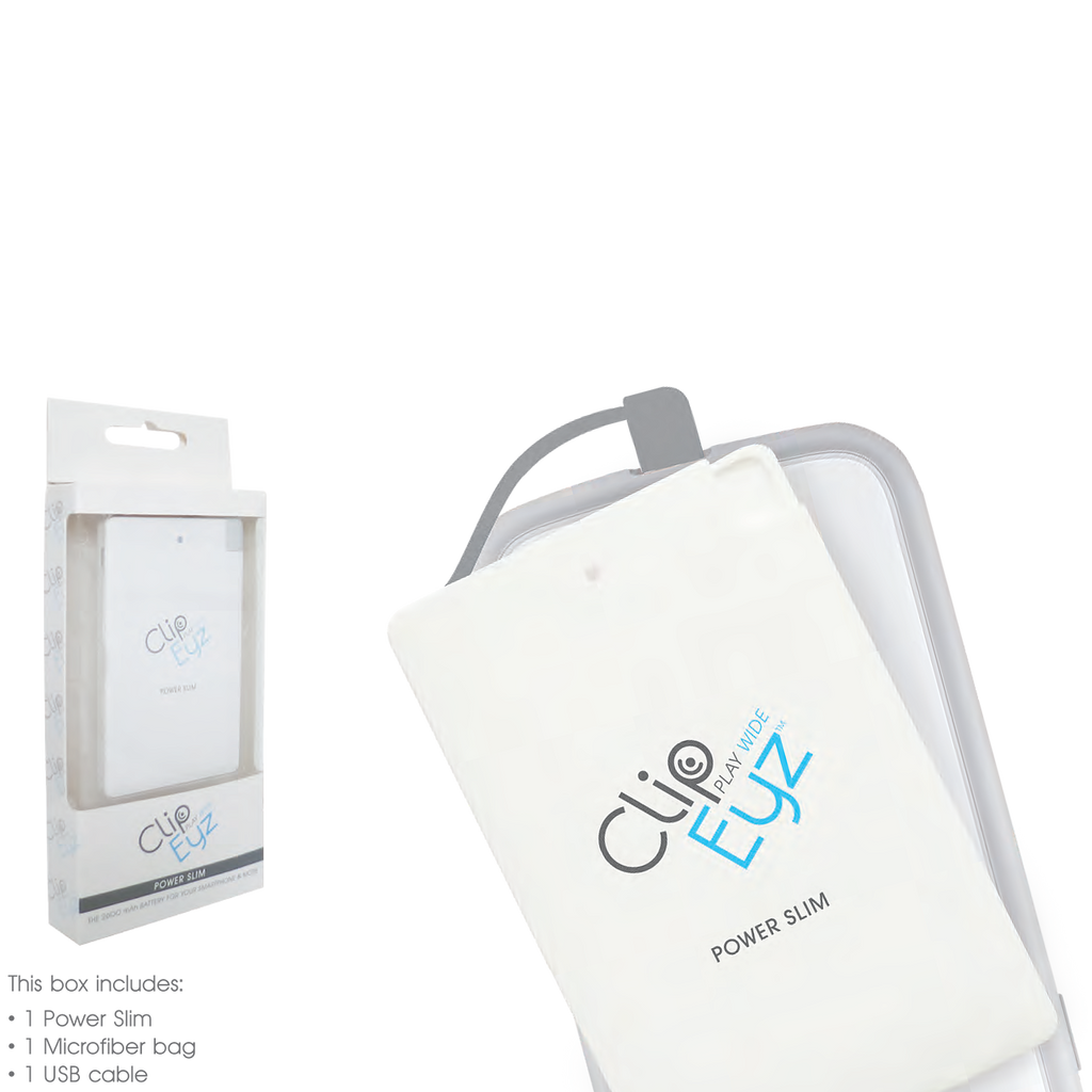 Clip Eyz - Power Slim Battery Charger