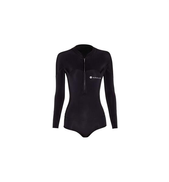 Adelio - Harper Long Sleeve Bikini Cut - Black