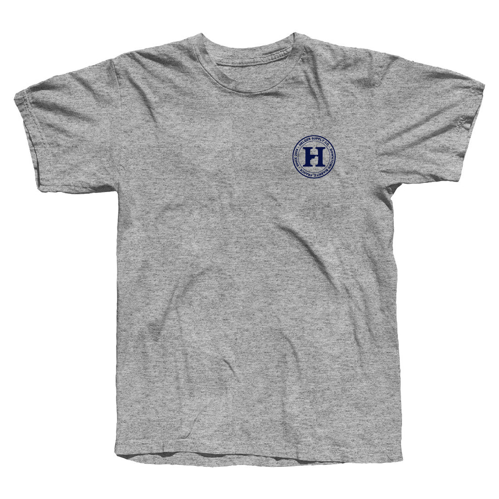 Helder Supply Co. - Logo Tshirt - Heather Grey
