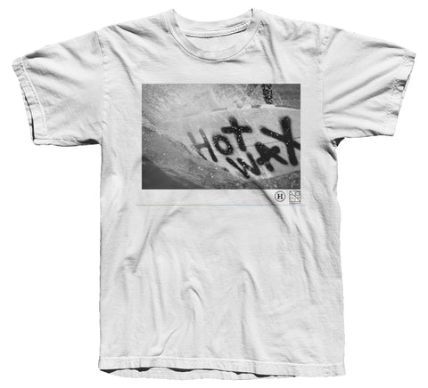 Helder Supply Co. x De Biarritz Yearbook - Hot Wax T-shirt - White