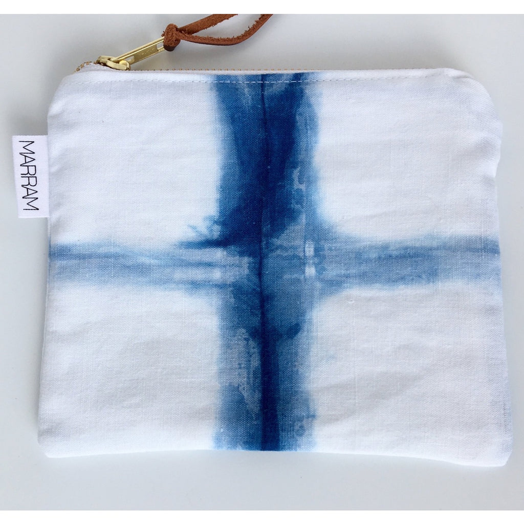 Marram - Pochette Indigo - Cross Square