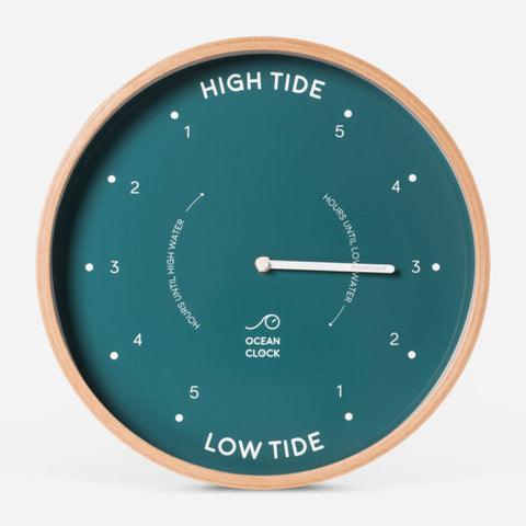 Ocean Clock - Tide Clock / Horloge des marées - Sailor (English)