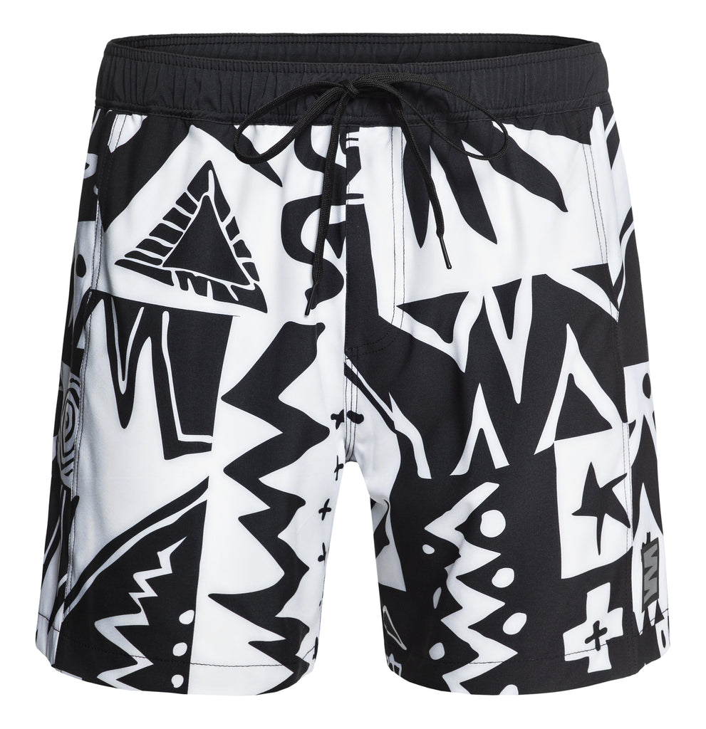 Short Series Co. - Tribal Quilt Swim Short