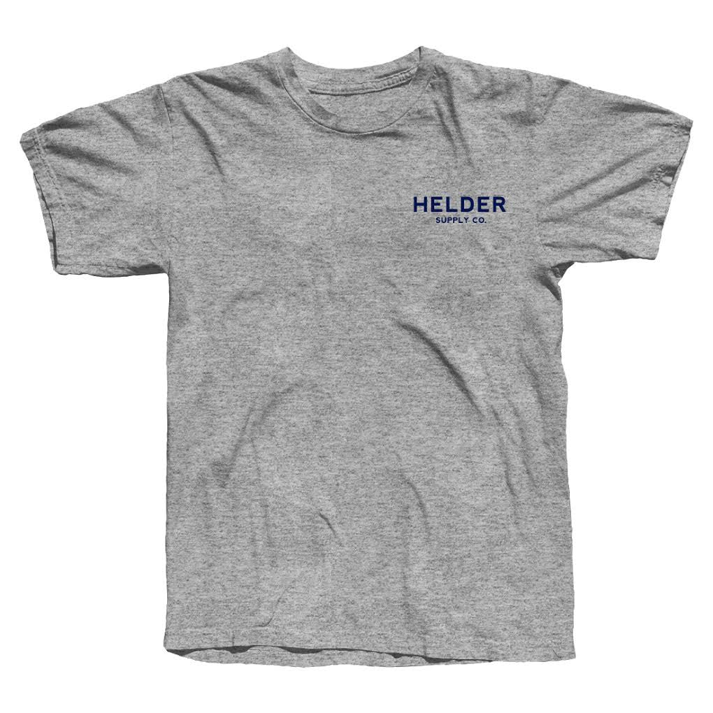 Helder Supply Co. - Typo Logo Tshirt - Grey