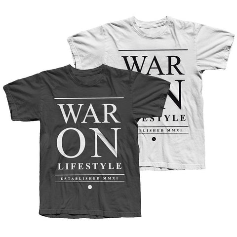War On Lifestyle - Typo Tee