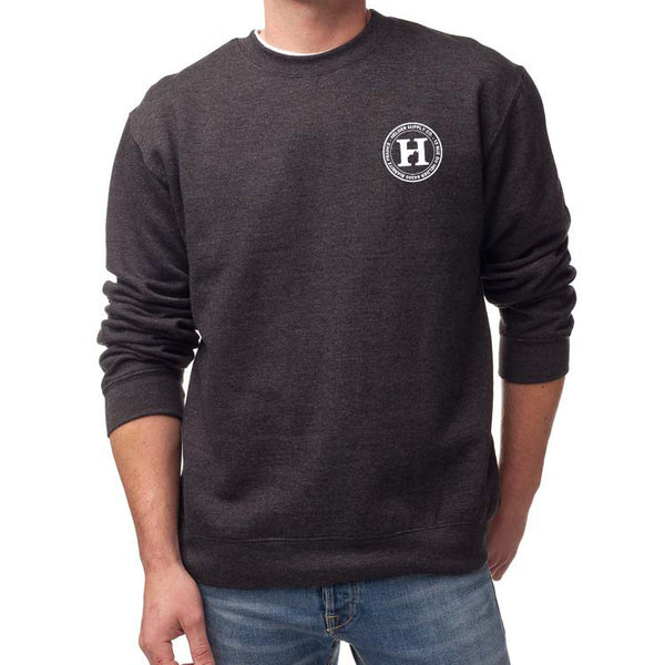 Helder Supply Co. Crew Neck Sweater - Charcoal