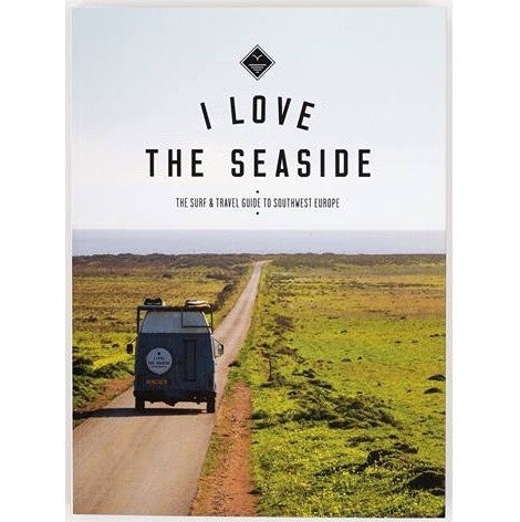 I love the seaside - Printed surf and travel guide