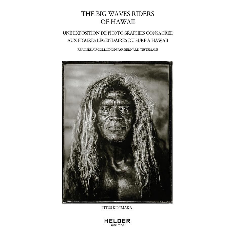 The Big Wave Riders of Hawaii - Bernard Testemale - Poster