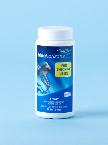 3-Way Chlorine Test Strips