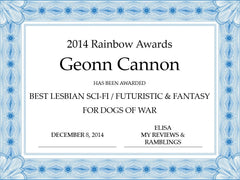 Rainbow Awards Winner Geonn Cannon Dogs of War