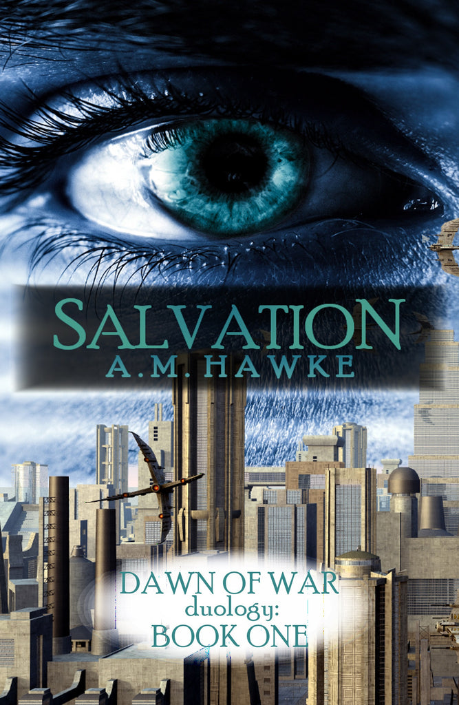 Salvation Cover by AM Hawke