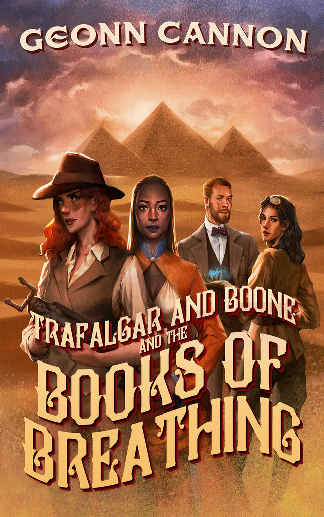 Trafalgar & Boone and the Books of Breathing