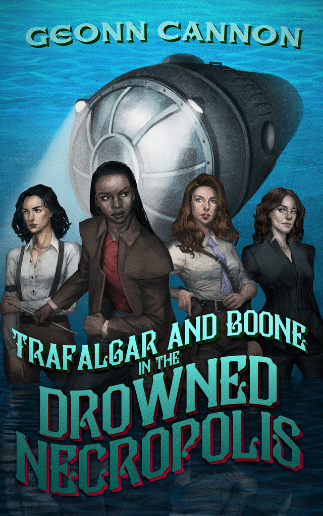 Cover art for Trafalgar and Boone by Geonn Cannon