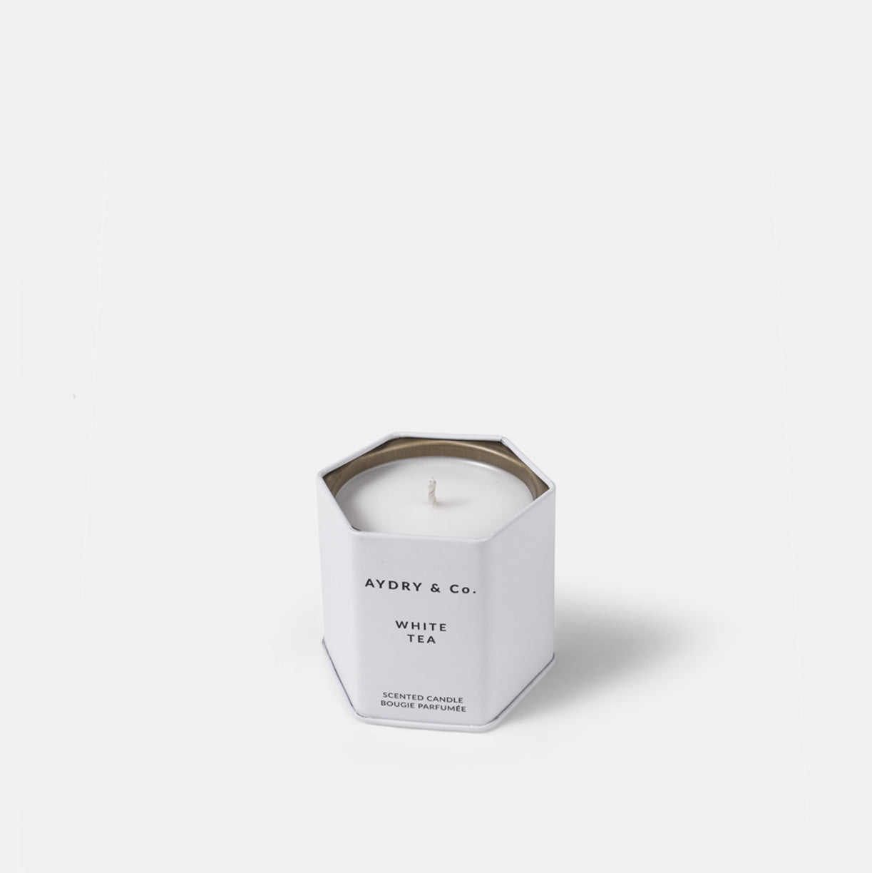 Small White Tea Candle